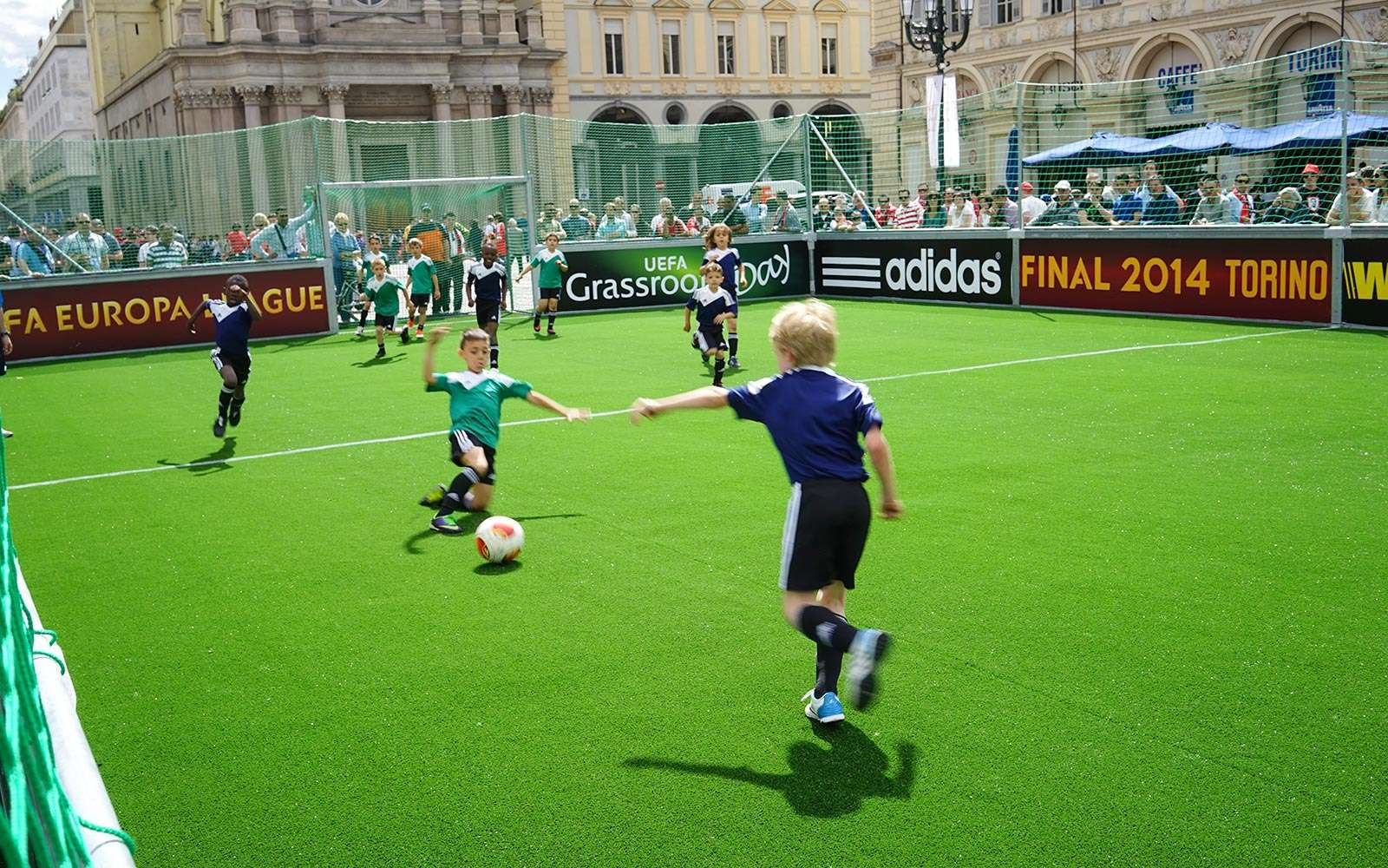UEFA Grassroots Rebound board pitch